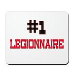 Number 1 LEGIONNAIRE Mousepad