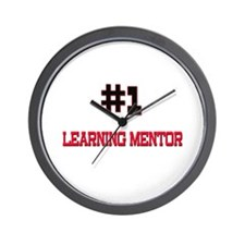 Number 1 LEARNING MENTOR Wall Clock