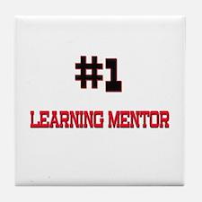 Number 1 LEARNING MENTOR Tile Coaster