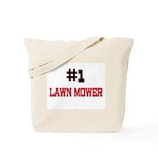 Number 1 LAWN MOWER Tote Bag