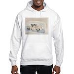 Pugs, Pug Hooded Sweatshirt