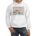 Pugs, Pug Hooded Sweatshirt