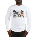 Holiday Horses Long Sleeve T-Shirt
