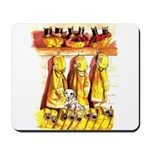 Dalmatian Fire House Mousepad
