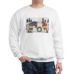 Holiday Horses Sweatshirt