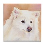 Eskimo Dog Tile Coaster