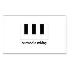 Harmonic Mixing Rectangle Decal
