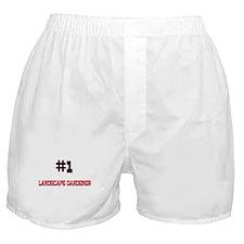 Number 1 LANDSCAPE GARDENER Boxer Shorts