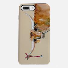 Long Horn Christmas iPhone 7 Plus Tough Case