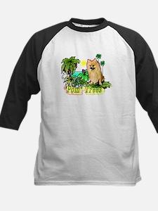Pomeranian Gifts-Pun Intended Kids Baseball Jersey