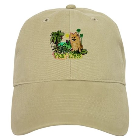 Pomeranian Gifts-Pun Intended Cap