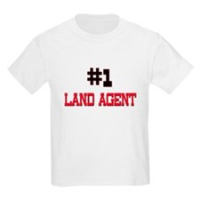 Number 1 LAND AGENT T-Shirt