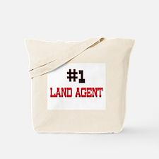 Number 1 LAND AGENT Tote Bag