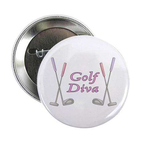 """Golf Diva 2.25"""" Button (10 pack)"""