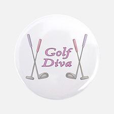 """Golf Diva 3.5"""" Button"""