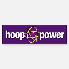 Hoop Power Bumper Bumper Bumper Sticker