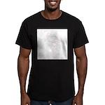 Neon Flamingo Men's Fitted T-Shirt (dark)