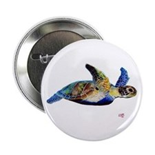 """Turtle 2.25"""" Button (10 pack)"""