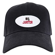 Number 1 JANITOR Baseball Hat