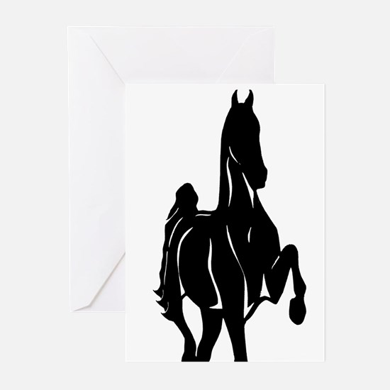 Funny Horse with foal Greeting Cards (Pk of 20)