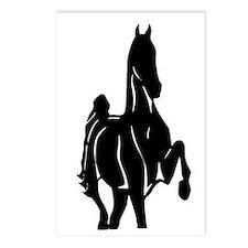 Cute Horse morgan Postcards (Package of 8)