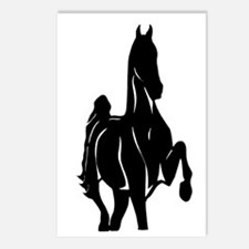 Unique Horse girls Postcards (Package of 8)