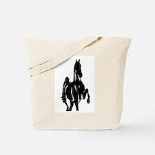 Cool American saddlebred Tote Bag