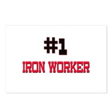 Number 1 IRON WORKER Postcards (Package of 8)