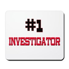 Number 1 INVESTIGATOR Mousepad