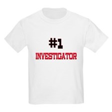 Number 1 INVESTIGATOR T-Shirt