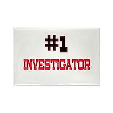 Number 1 INVESTIGATOR Rectangle Magnet