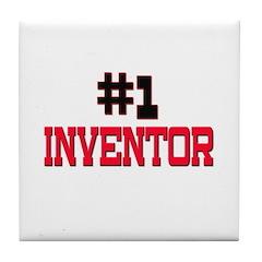Number 1 INVENTOR Tile Coaster