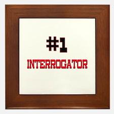Number 1 INTERROGATOR Framed Tile