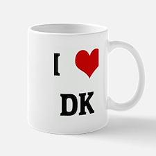 I Love DK Mug