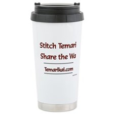 Stitch Temari, Share Th Travel Mug