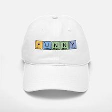 Funny made of Elements Baseball Baseball Cap