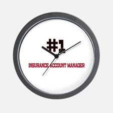 Number 1 INSURANCE ACCOUNT MANAGER Wall Clock