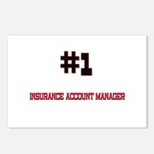 Number 1 INSURANCE ACCOUNT MANAGER Postcards (Pack