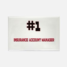 Number 1 INSURANCE ACCOUNT MANAGER Rectangle Magne