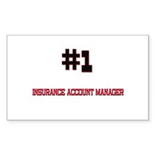 Number 1 INSURANCE ACCOUNT MANAGER Decal