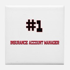 Number 1 INSURANCE ACCOUNT MANAGER Tile Coaster