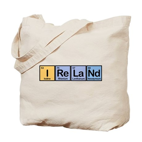 Ireland made of Elements Tote Bag