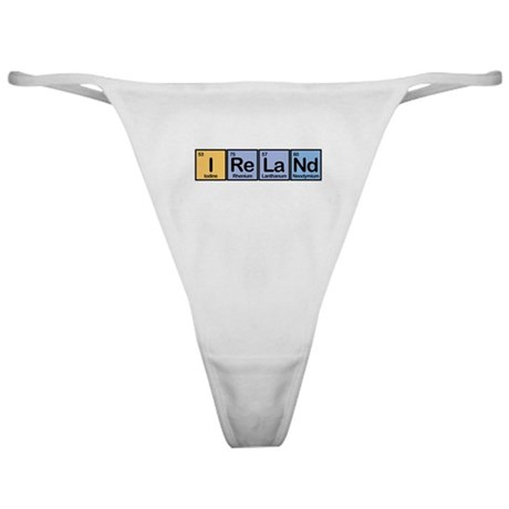 Ireland made of Elements Classic Thong