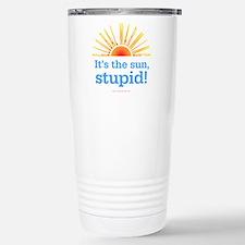 Global Warming Sun Stainless Steel Travel Mug
