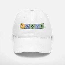 Kosovo made of Elements Baseball Baseball Cap