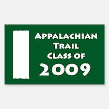Appalachian Trail Class Of 2009 Decal
