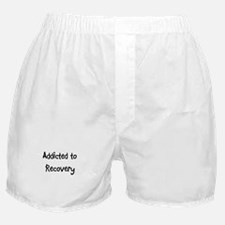 Addicted to Recovery Boxer Shorts