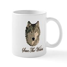 Save The Wolves Mug