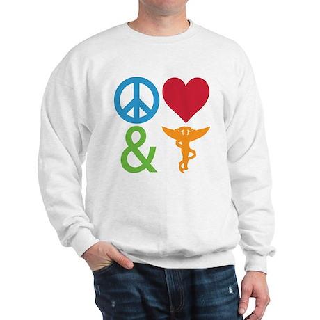 Peace, Love & Chiro Sweatshirt