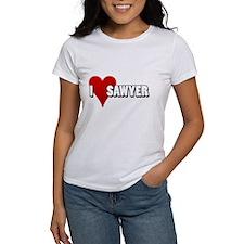 I Heart (Love) Sawyer Tee